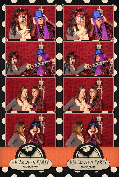 2015 Accenture Interactive Halloween Party Photo Booth