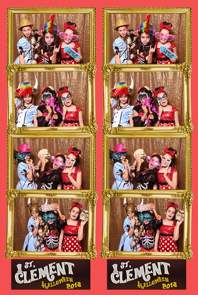 2015 St Clement Halloween Party Photo Booth