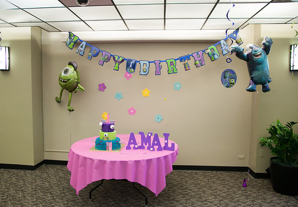 Amal's 1st Birthday Party